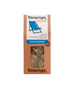 Teapigs - Lemon & Ginger - 6 x 15 Tea Bags