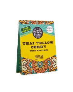 The Spice Sultan - Thai Yellow Curry with Nam Prik Meal Kit - 8 x 21g