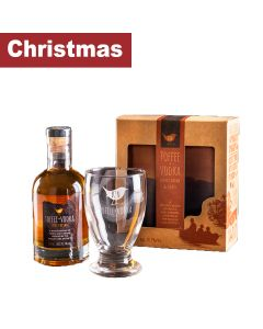Kin Toffee Vodka - Gift pack with Toffee + Vodka Spirit Drink & Branded Glass - 6 x 200ml