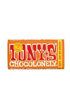 Tony's Chocolonely - Milk Chocolate, Caramel & Sea Salt - 15 x 180g