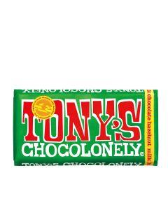 Tony's Chocolonely - Milk Chocolate Hazelnut - 15 x 180g