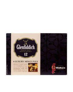Walkers Shortbread - Glenfiddich Mince Pies - 6 x 372g