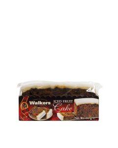 Walkers Shortbread - Iced Rich Fruit Cake Slab - 12 x 450g