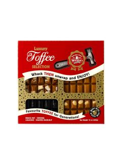 Walkers Nonsuch Limited - Luxury Toffee Selection - 12 x 400g