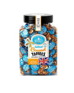 Walkers Nonsuch Limited - Salted Caramel Toffee Jar - 7 x 1.25kg