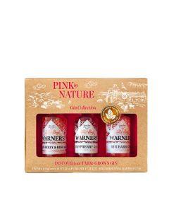 Warner's Distillery - Pink By Nature 40% Abv - 10 x (3 x 50ml)