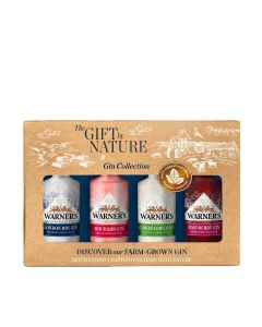 Warner's Distillery - Gift Pack of Nature 40% Abv - 10 x (4 x 50ml)