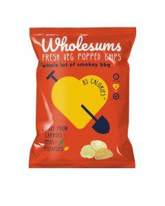 Wholesums - Whole Lot of Smokey Popped Veg Crisps - 8 x 80g