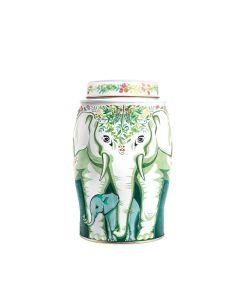 Williamson Tea - Large Elephant Winter Wreath - Christmas Blend Teabags (40) 6 x 80g - 6 x 100g