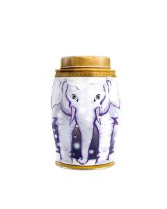 Williamson Tea - Large Elephant Snow Globe - Earl Grey Teabags (40) - 6 x 100g