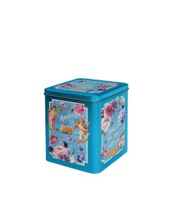 Gadeschi - Amaretti Biscuits in Blue Flowers Tin - 4 x 400g