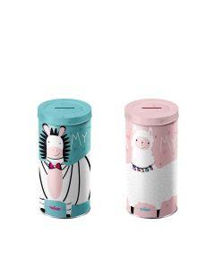Magnat - Mixed Case: My Funny Zebra/Llama Money Box Tin - 6 x 140g