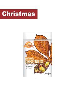 Trustin Foods - Peeled Roasted Chestnuts - 12 x 200g