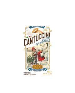 Gadeschi - Cantuccini Biscuits in Winter Scene Box – Almond - 18 x 100g