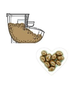 Bulk - Carol Anne Plain Chocolate Brazils - 1 x 3kg