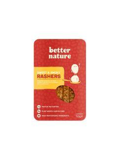 Better Nature - Sizzling Sweet & Smoky Rashers - 8 x 180g (Min 40 DSL)