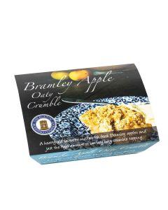 Buxton Pudding Company - Bramley Apple Oaty Crumble Foil - 8 x 250g (Min 30 DSL)