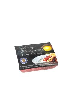 Buxton Pudding Company - Apple & Blackcurrant Oaty Crumble Foil - 8 x 250g (Min 33 DSL)