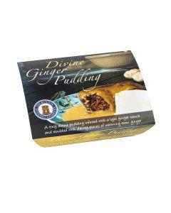 Buxton Pudding Company - Divine Ginger Pudding Foil - 8 x 250g (Min 33 DSL)