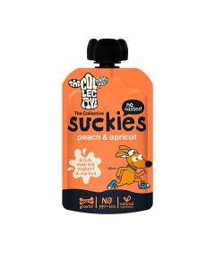 The Collective - Suckies Peach + Apricot Yoghurt  - 6 x 100g (Min 12 DSL)