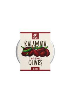 Delphi Foods - Black Pitted Olives  - 6 x 240g