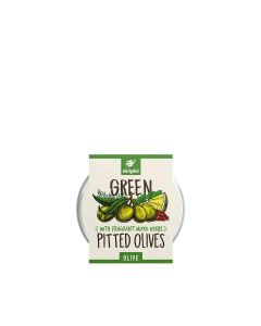 Delphi Foods - Green Pitted Olives - 6 x 240g
