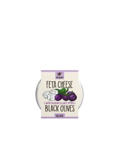 Delphi Foods - Black Pitted Olives With Feta - 6 x 240g
