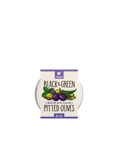 Delphi Foods - Black & Green Pitted Olives - 6 x 240g (Min 70 DSL)