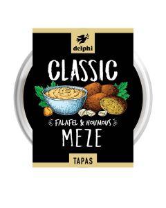 Delphi Foods - Meze - 4 Falafel With Houmous - 6 x 185g