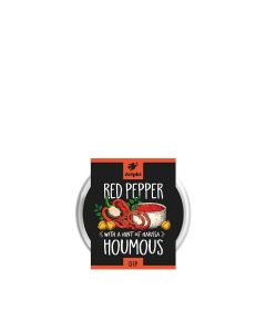 Delphi Foods - Chargrilled Red Pepper Houmous (24 min DSL) - 6 x 170g