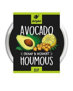 Delphi Foods - Avocado Houmous - 6 x 150g (Min 21 DSL)