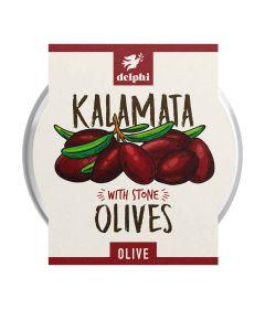 Delphi Foods - Kalamata Olives - 6 x 160g (Min 38 DSL)
