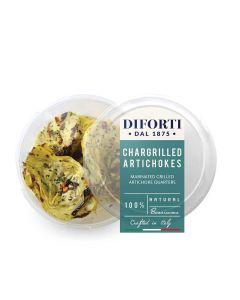 Diforti - Chargrilled Artichokes - 12 x 180g (Min 58 DSL)