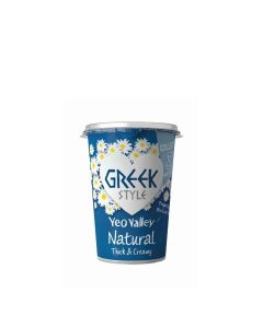Yeo Valley - Greek Style Natural Yogurt - 6 x 450g