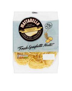 Mattarello - Free-range Egg Spaghetti Nests - 12 x 250g (Min 19 DSL)