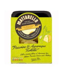 Mattarello -  Asparagus & Pecorino Tortelli - 6 x 250g (Min 19 DSL)