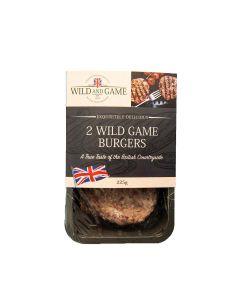 Wild and Game - Game Burger - 6 x 226g (Min 5 DSL)