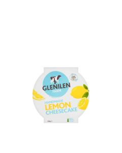 Glenilen Farm - Lemon Cheesecake  - 4 x 600g (Min 5 DSL)