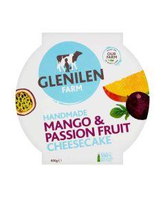 Glenilen Farm - Mango & Passionfruit Cheesecake - 4 x 600g (Min 5 DSL)