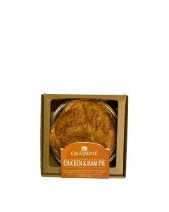 Grasmere Farm - Medium Chicken & Ham Pie  (6 min DSL) - 4 x 450G
