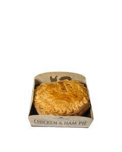 Grasmere Farm - Individual Chicken & Ham Pie  (6 min DSL) - 6 x 250G