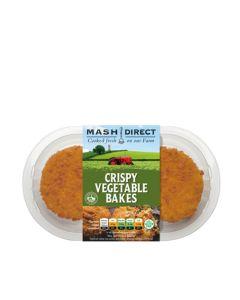 Mash Direct - Crispy Vegetable Bakes (6 min DSL) - 6 x 250g