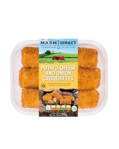 Mash Direct - Potato, Cheese and Onion Croquettes - 6 x 300g (Min 6 DSL)