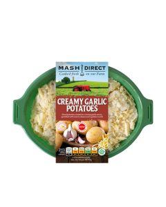 Mash Direct - Creamy Garlic Potatoes - 6 x 400g (Min 6 DSL)