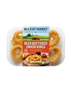 Mash Direct - Beer Battered Onion Rings - 6 x 200g (Min 6 DSL)