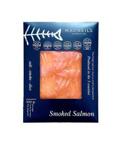 Macneil's Smokehouse - Sliced Smoked Salmon (16 min DSL) - 6 x 100g