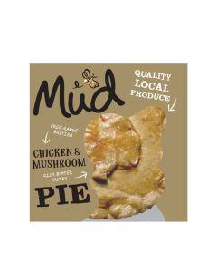 MUD - Chicken & Mushroom Pie - 6 x 250g (Min 6 DSL)