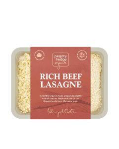 Pegoty Hedge - Organic Beef Lasagne - 6 x 400g (Min 7 DSL)