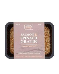 Pegoty Hedge - Organic Salmon Gratin - 6 x 320g (Min 7 DSL)