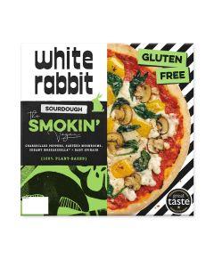 The White Rabbit Pizza Co. - The Smokin' Vegan Gluten Free Pizza (6 min DSL) - 4 x 353g